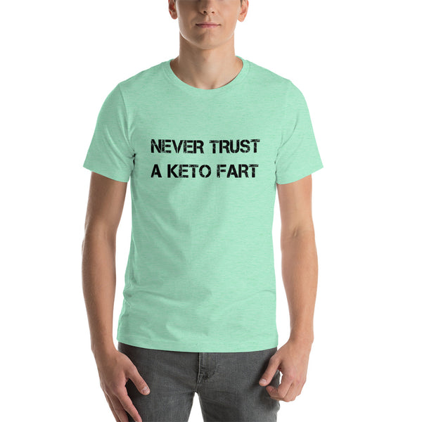 NEVER TRUST... Unisex Tee (12 colors) - The Sweetest Tee
