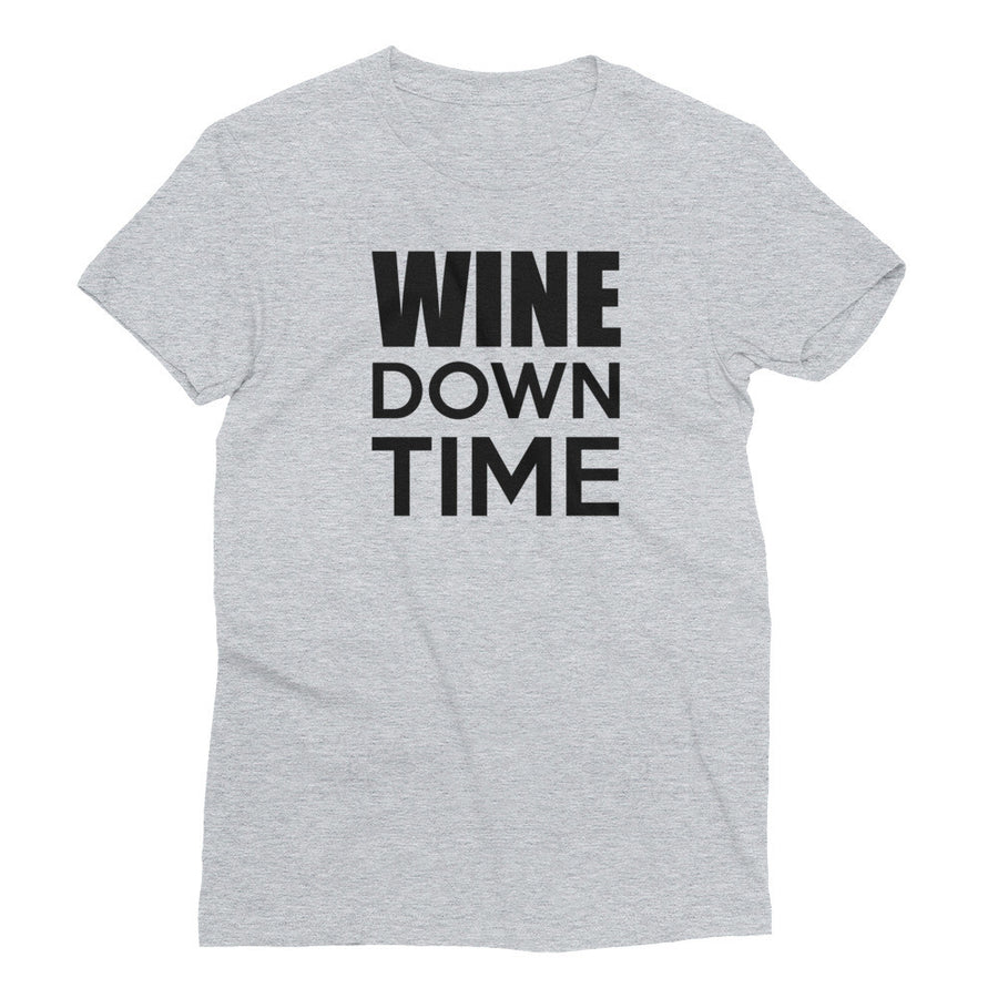 WINE DOWN TIME Cotton Tee (4 colors) - The Sweetest Tee