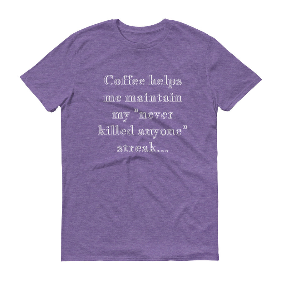COFFEE HELPS... Unisex Tee (14 colors) - The Sweetest Tee