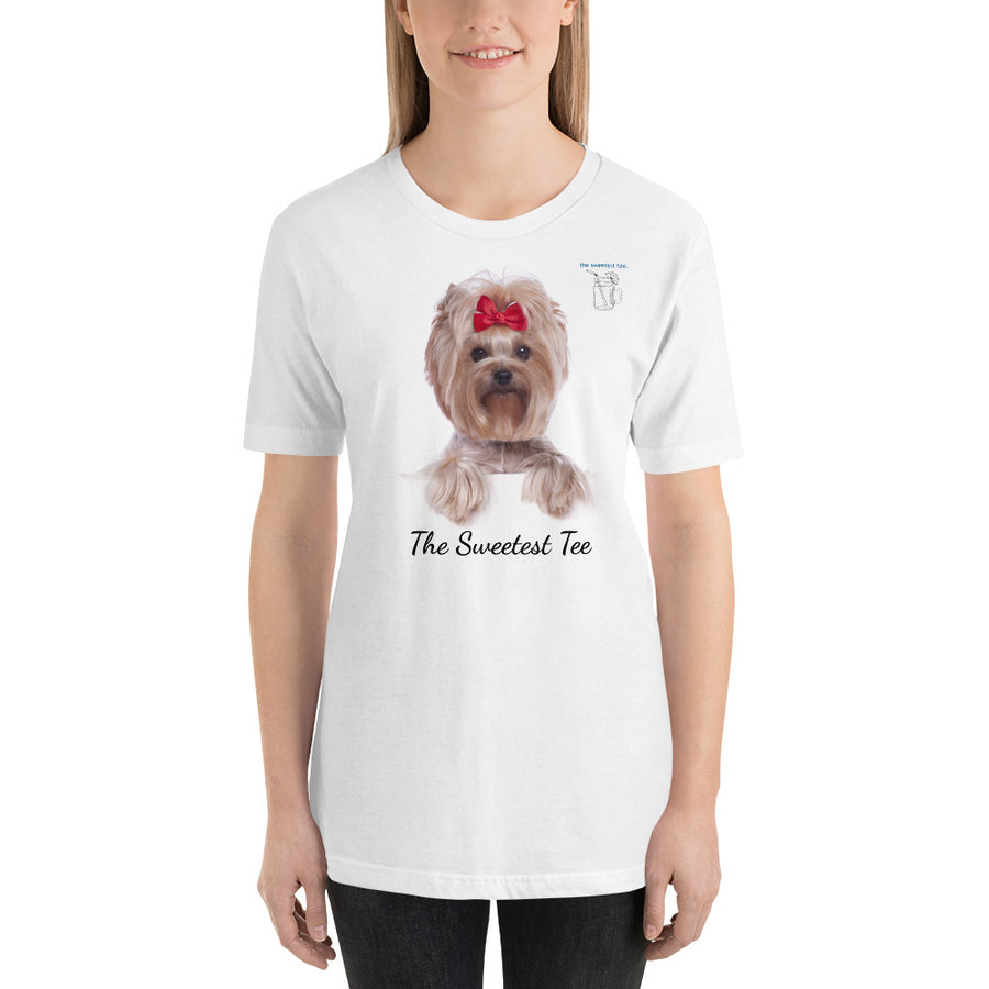 Sweetest Tee Yorkie Unisex T-Shirt - The Sweetest Tee