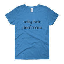 SALTY HAIR DON'T CARE Cotton Tee (6 colors) - The Sweetest Tee