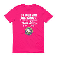 OH YOUR MAN HAS SWAG... US Navy Cotton Tee (8 colors) - The Sweetest Tee