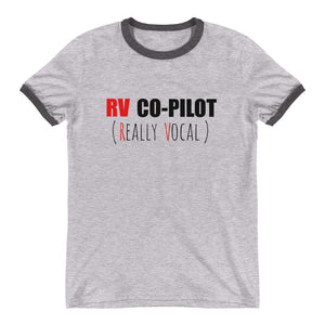 RV COPILOT Ringer Tee (2 colors) - The Sweetest Tee