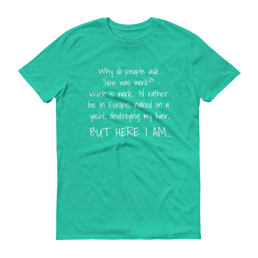 WHY DO PEOPLE ASK... Cotton Tee (8 colors) - The Sweetest Tee