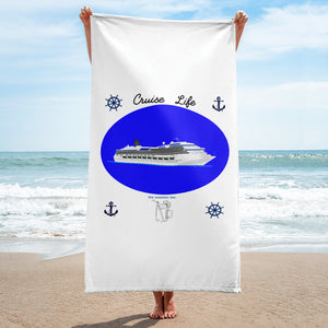 The Sweetest Tee Beach Towel