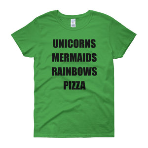 UNICORNS MERMAIDS... Cotton Tee (7 colors) - The Sweetest Tee