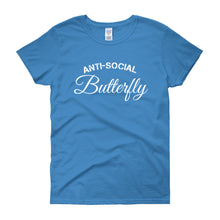 ANTI-SOCIAL BUTTERFLY Women's Tee (14 colors) - The Sweetest Tee