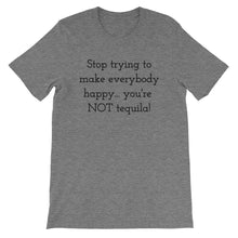 STOP TRYING TO MAKE EVERYBODY... Unisex Cotton Tee (8 colors) - The Sweetest Tee