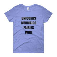 UNICORN MERMAIDS FAIRIES... Women's Tee (12 colors) - The Sweetest Tee