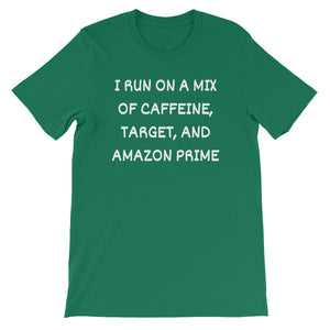 I RUN ON A MIX OF... Cotton Tee (10 colors) - The Sweetest Tee
