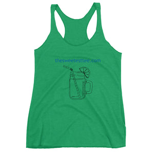 THE SWEETEST TEE Logo Women's Racerback Tank (3 colors) - The Sweetest Tee
