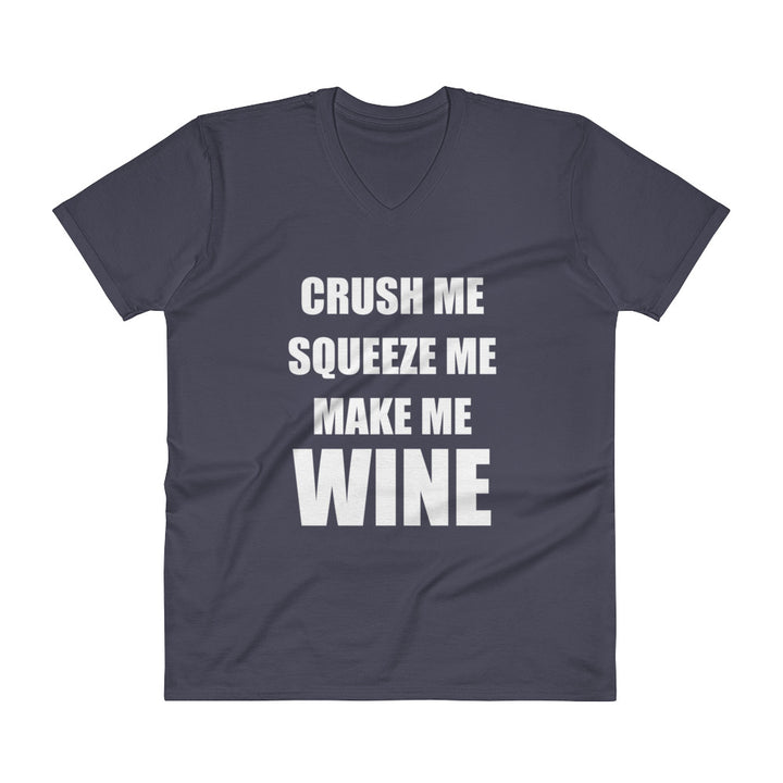 CRUSH ME... Unisex V-Neck Tee (6 colors) - The Sweetest Tee