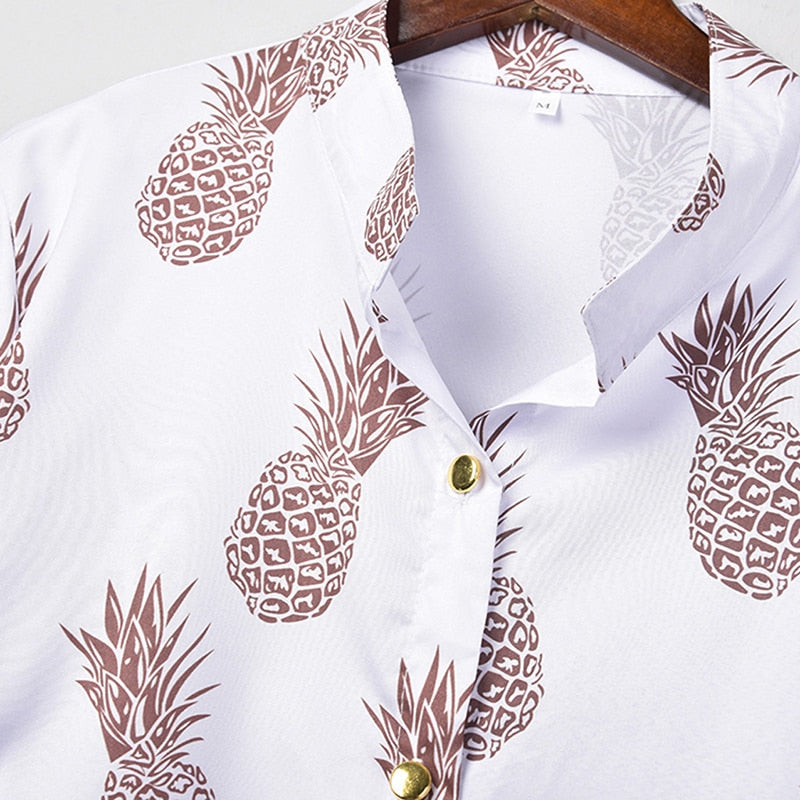 Pineapple Blouse - The Sweetest Tee