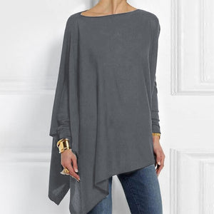Cotton Asymmetrical Womens Top (9 colors) - The Sweetest Tee