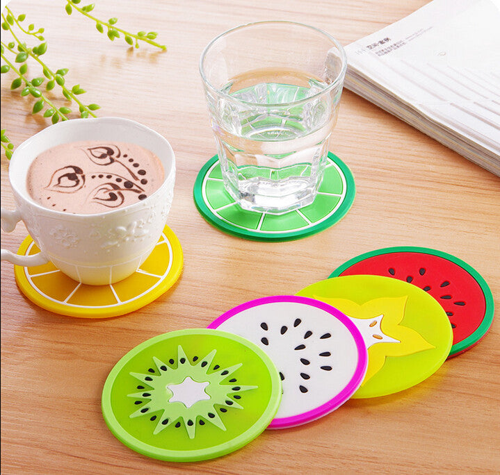 Silicone Fruit Cup Coaster (7 designs) - The Sweetest Tee