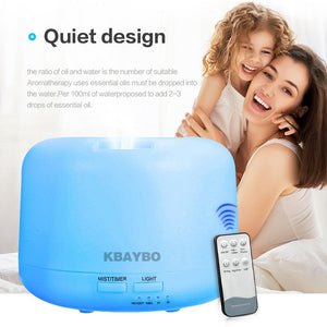 Remote Control Air Aroma Humidifier - The Sweetest Tee