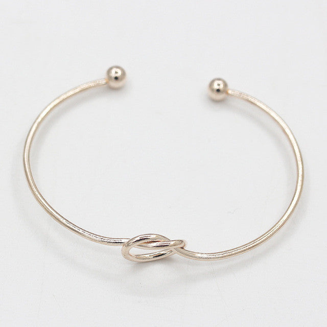 Love Knot Cuff Bracelet (3 colors) - The Sweetest Tee