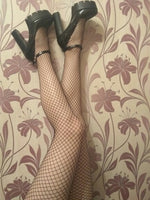 Black Fishnet Stockings - The Sweetest Tee