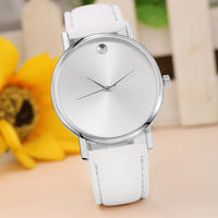 Womens Leather Simple Casual Quartz Watch (3 colors) - The Sweetest Tee