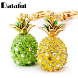 Pineapple Crystal Keychains (3 colors) - The Sweetest Tee