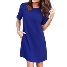 Casual Solid Pocket Dress (4 colors) - The Sweetest Tee