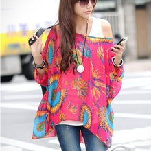 Chiffon Batwing Plus Size Blouse (30 designs) - The Sweetest Tee