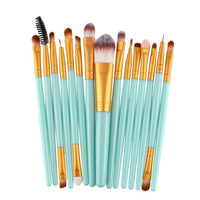 15pcs Set Makeup Brushes (15 colors) - The Sweetest Tee