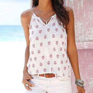 Sleeveless Vest Tank Top Blouse (2 colors) - The Sweetest Tee