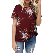 Ladies Casual Floral Tee (3 colors) - The Sweetest Tee