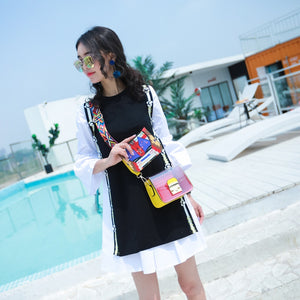 Jelly Bag Mini Transparent Crossbody (8 colors) - The Sweetest Tee