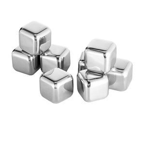 Reusable Stainless Steel Chilling Cubes (3 packs) - The Sweetest Tee