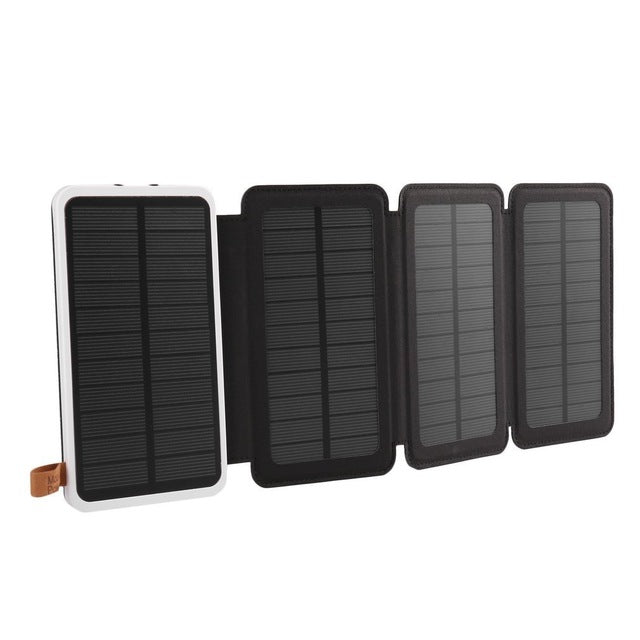 Solar Powerbank Battery With Three Fold Power Bank (4 colors) - The Sweetest Tee