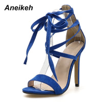 High Heel Ankle Strap Sandals - The Sweetest Tee