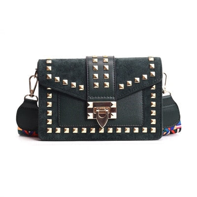 Fashion Rivet Crossbody Handbag - The Sweetest Tee