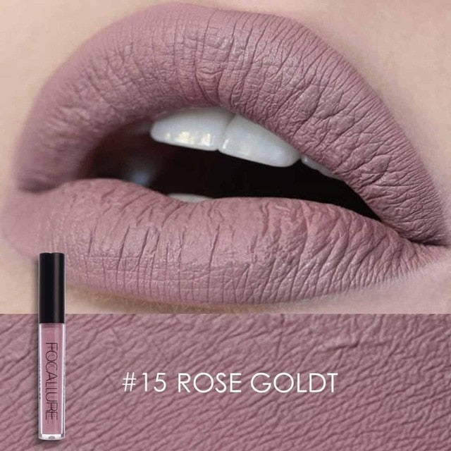 FOCALLURE Liquid Matte Lipstick (25 colors) - The Sweetest Tee