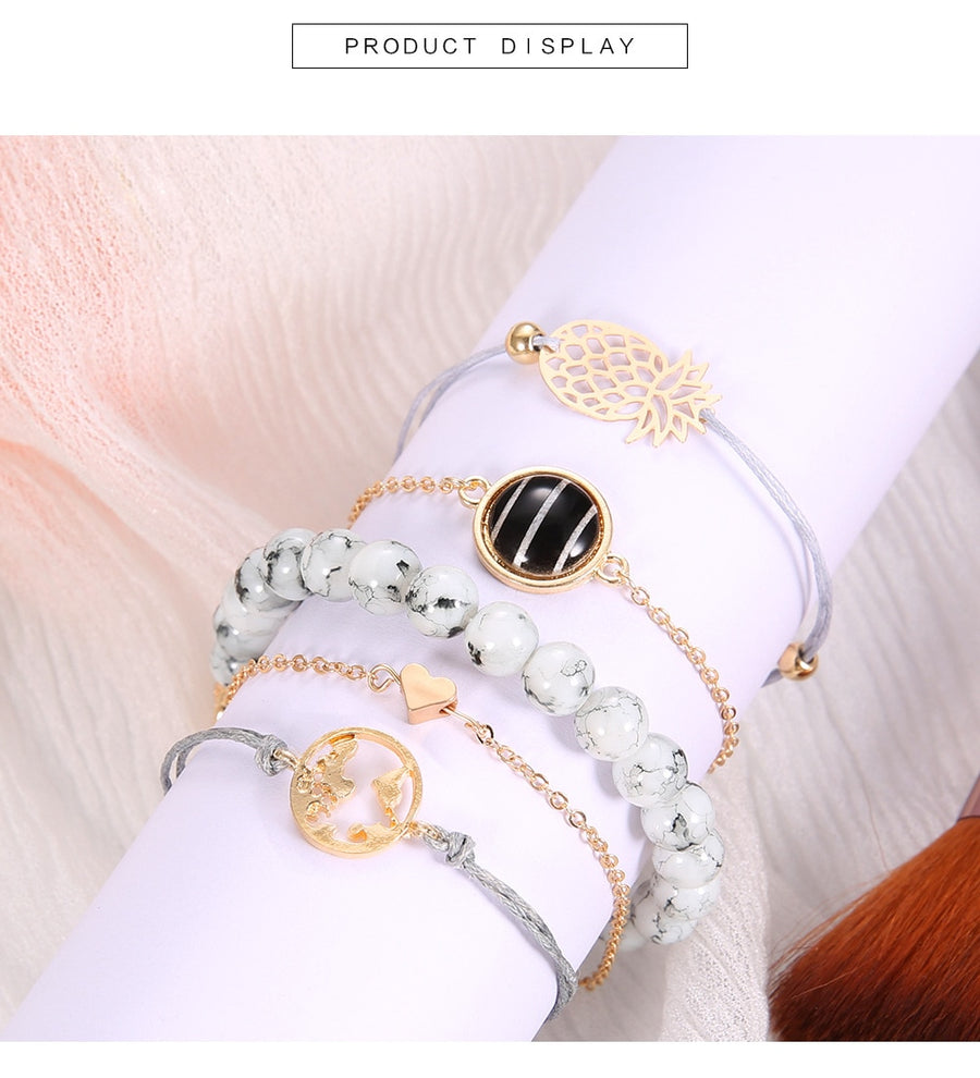 Bohemian Charm Bracelets - The Sweetest Tee