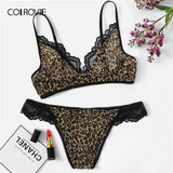 Leopard Lingerie Set - The Sweetest Tee