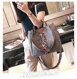 Rainbow Shoulder Strap Two Pieces Handbags - The Sweetest Tee