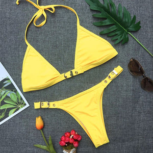 Buckle Bikini (4 colors) - The Sweetest Tee