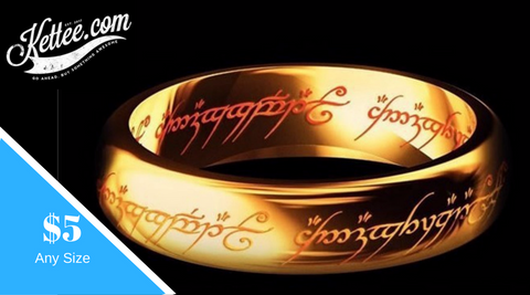 The One Ring or The +5 Ring to Nerd-Cred