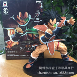 "Raditz ""Dies wayyy too fast"" the action figure"