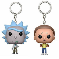 Rick and Morty Toys Keychain Happy Sad Foamy Collectible Model Toy Vinyl Figure Gifts Car Decoration Bag Pendant Gifts For Kids