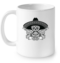"""Renegade Sugar Skull"" White Mug"
