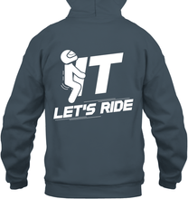 """F#%k It Let's Ride"" Pullover Hoodie"