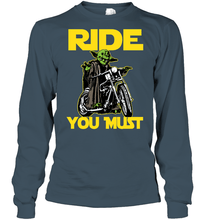 """Ride You Must"" LS Tee"