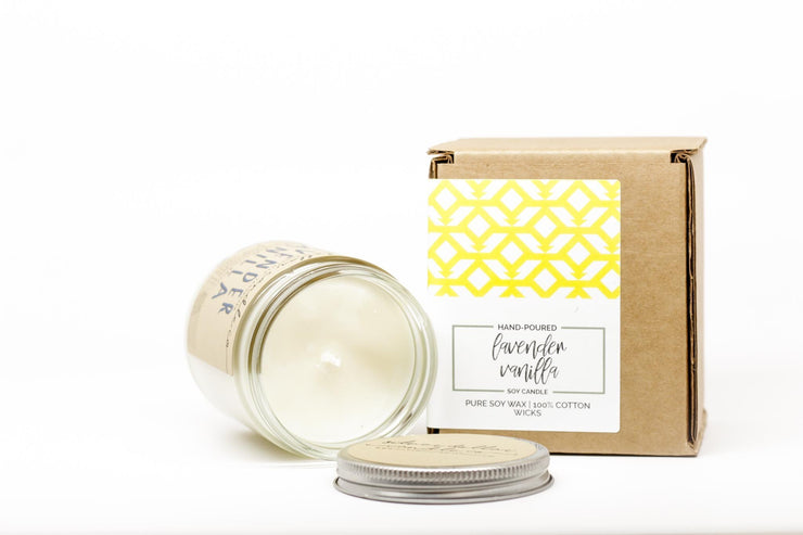 All That I Am, Or Hope To Be... Mom Gift - Silver Dollar Candle Co