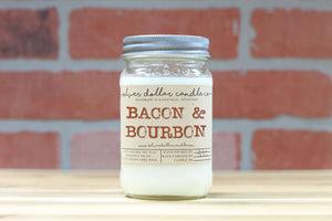 Bacon & Bourbon - Silver Dollar Candle Co