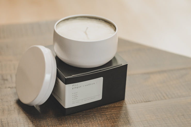 #46 Saffron & Ginger - Silver Dollar Candle Co