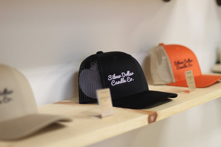 Snapback Cap - Silver Dollar Candle Co