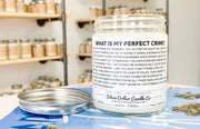 Dwight's Perfect Crime - Silver Dollar Candle Co